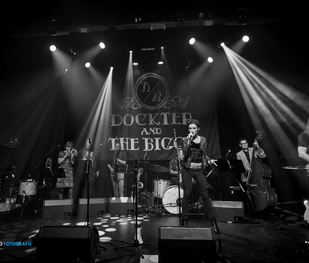 Dockter and the Biggs live at the Paard van Troje – Moving On Up